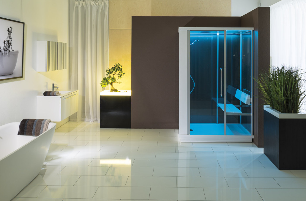 dampfdusche f r 1 person wellness ratgeber. Black Bedroom Furniture Sets. Home Design Ideas