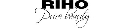 RIHO logo + slogan Black
