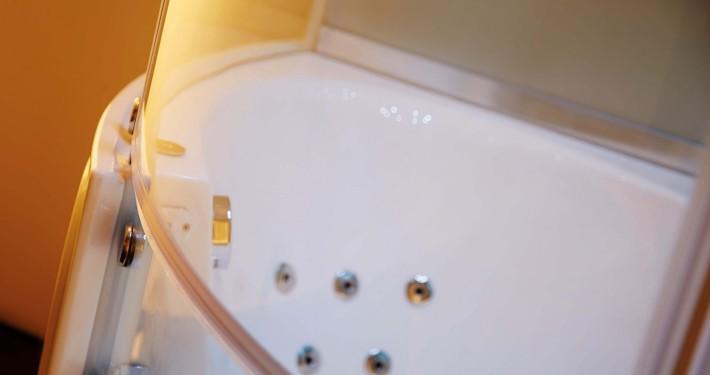 Dampfdusche Whirlpool Kombi WS135 mit flachem Einstieg