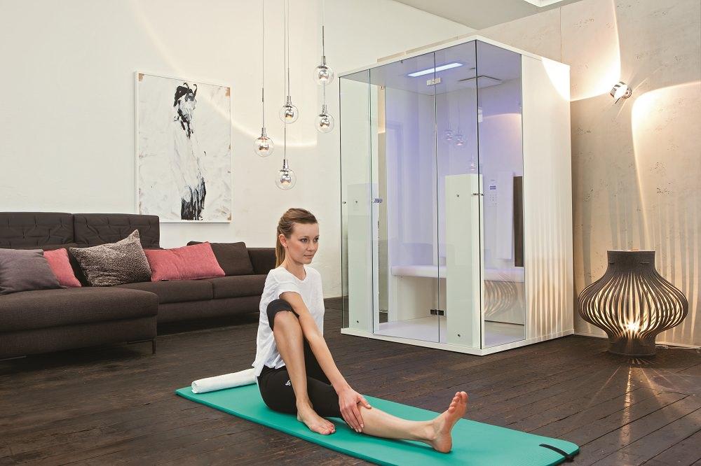 infrarotkabine aus glas wellness ratgeber. Black Bedroom Furniture Sets. Home Design Ideas