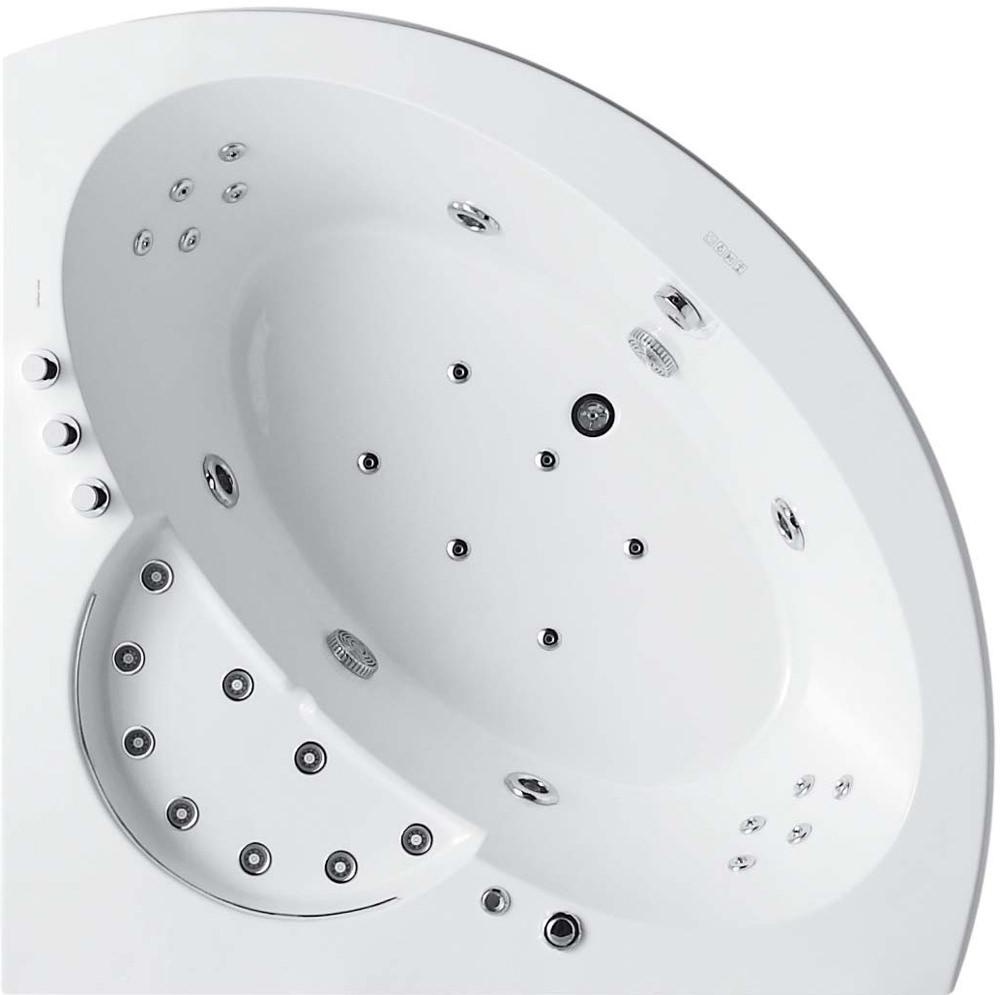 Eckbadewanne whirlpool wellness ratgeber for Eckbadewanne mit whirlpool